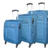 סט שלישיית מזוודות בד מאסיבי Verage Pitango 7