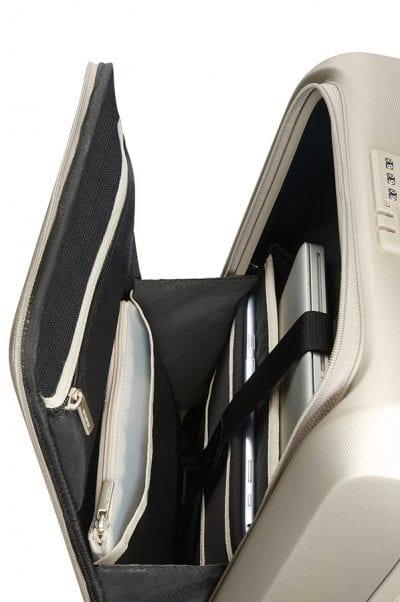 מזוודה קשיחה לעלייה למטוס עם תא למחשב Samsonite Prodigy 4