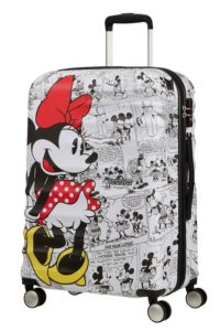 מזוודה קשיחה דיסני American Tourister Disney Comics Mickey/Minnie 13