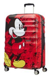 מזוודה קשיחה דיסני American Tourister Disney Comics Mickey/Minnie 1