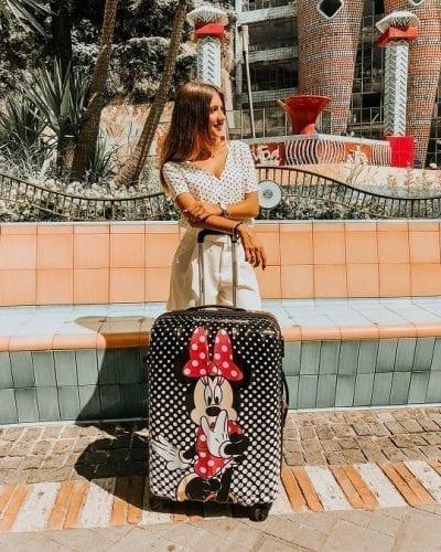 מזוודה קשיחה דיסני American Tourister Disney Dots 10