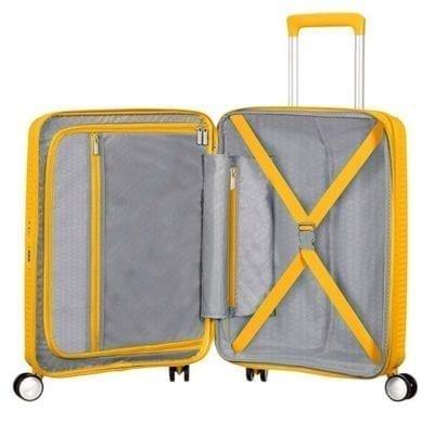 מזוודה קשיחה קלה American Tourister Soundbox 49