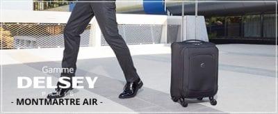 מזוודת בד איכותית וקלה דלסי Delsey Montmartre Air 9