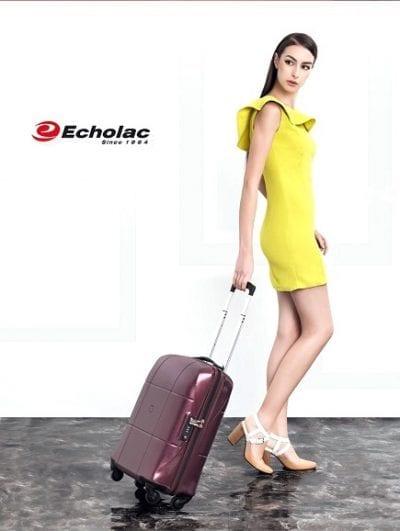 מזוודה קשיחה Echolac Atlas 89