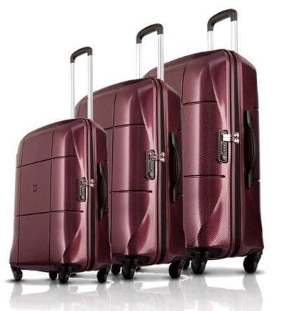 סט מזוודות קשיחות Echolac Atlas 10