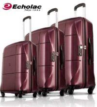 סט מזוודות קשיחות Echolac Atlas 7