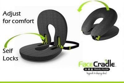 כרית צוואר מתכווננת FaceCradle 11