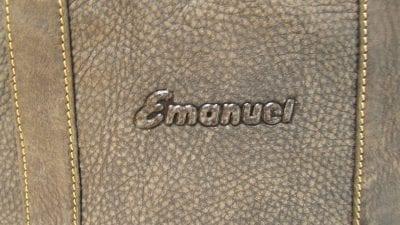 תיק גב מעור עמנואל Emanuel Roxanna 48