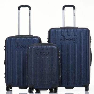 סט שלישיית מזוודות קשיחות Jeep makalu 7