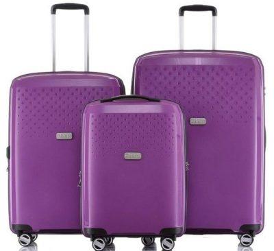 סט מזוודות Jeep Redwood purple 2