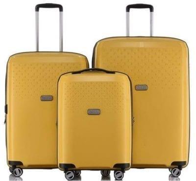 סט מזוודות Jeep Redwood yellow 2