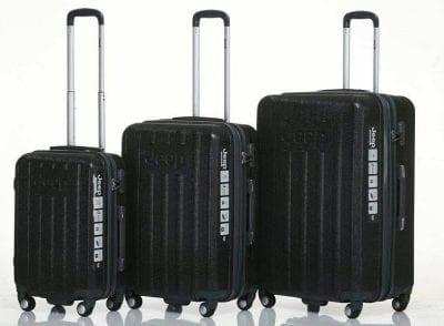 סט שלישיית מזוודות קשיחות Jeep makalu 18