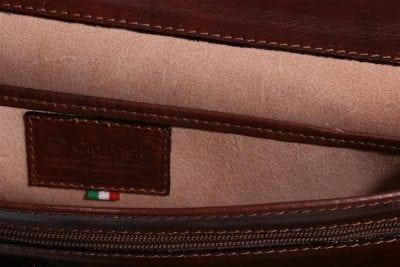 תיק עסקים מעור איטלקי Old Angler 184 7