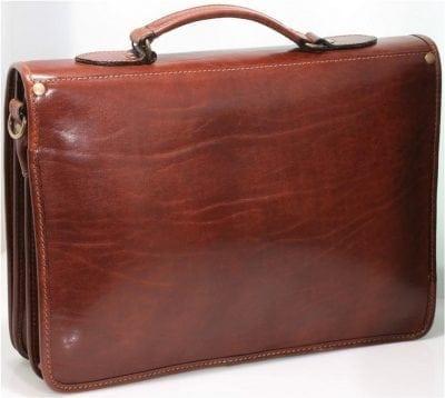 תיק עסקים מעור איטלקי Old Angler 184 5