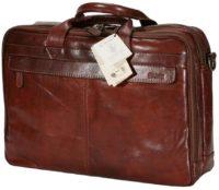 תיק עסקים גדול מעור איטלקי Old Angler 2154 7