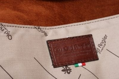 תיק מסנג'ר מעור איטלקי Old Angler 304 24
