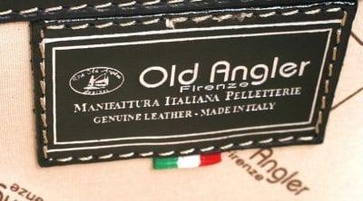 תיק עסקים מעור איטלקי Old Angler 758 69