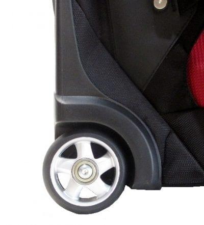 תיק על גלגלים עם רצועות גב Outdoor 27