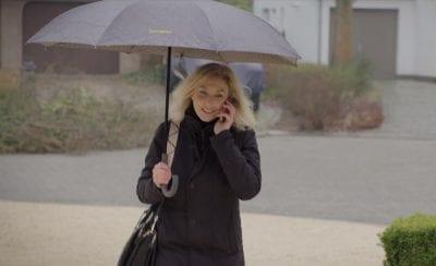 מטריה איכותית הפוכה סמסונייט Samsonite up way 4