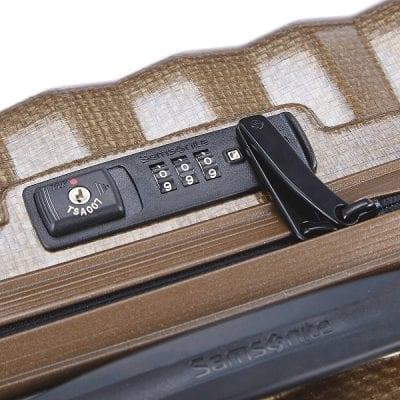 מזוודה קשיחה יוקרתית קלה במיוחד Samsonite Lite Shock 20