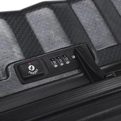 מזוודה קשיחה יוקרתית קלה במיוחד Samsonite Lite Shock 53