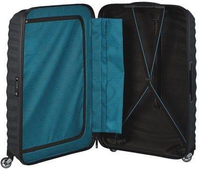 מזוודה קשיחה יוקרתית קלה במיוחד Samsonite Lite Shock 60