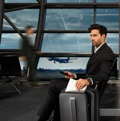 מזוודה קשיחה לעלייה למטוס עם תא למחשב Samsonite Prodigy 10