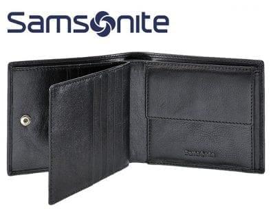ארנק עור סמסונייט Samsonite 61u003 6