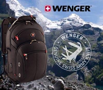 תיק גב קומפקטי לסטודנטים סוויס וונגר Swiss Wenger Gigabyte 9