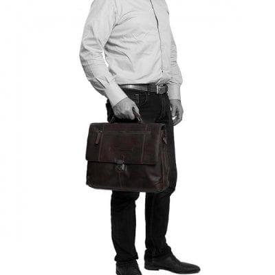 תיק מנהלים מעור צ'סטרפילד Chesterfield George 5