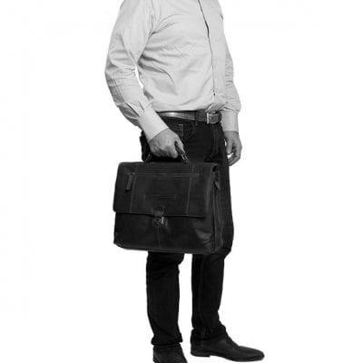 תיק מנהלים מעור צ'סטרפילד Chesterfield George 10