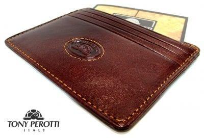 ארנק עור איטלקי טוני פרוטי Tony Perotti 10334 1