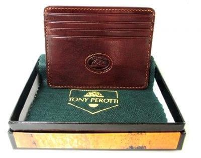 ארנק עור איטלקי טוני פרוטי Tony Perotti 10334 5