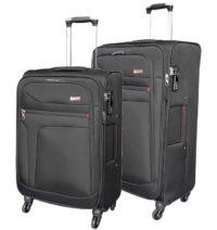 סט זוג מזוודות בד מאסיבי Verage Pitango 2