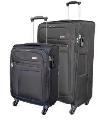 סט זוג מזוודות בד מאסיבי Verage Pitango 1