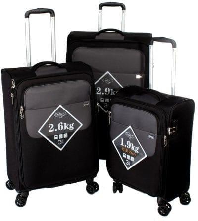 סט שלישיית מזוודות קלות Verage Lite Cross 3