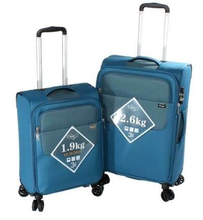 סט צמד מזוודות קלות Verage Lite Cross 7