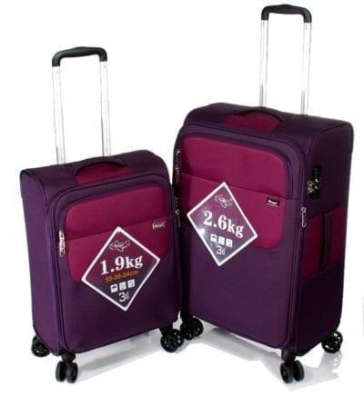 סט צמד מזוודות קלות Verage Lite Cross 2