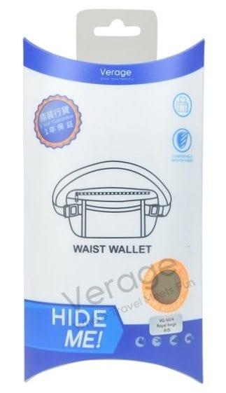 חגורת כסף Verage Money Belt 1