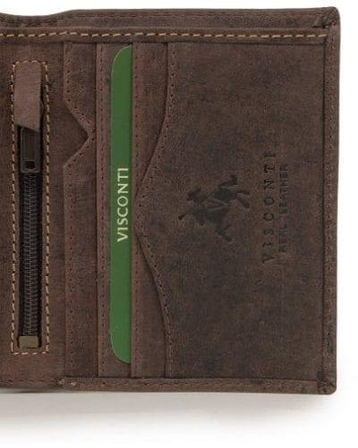 ארנק עור ויסקונטי Visconti 705 7
