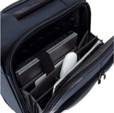 טרולי עסקים עם תא למחשב סמסונייט Samsonite XBR Mobile Office 3