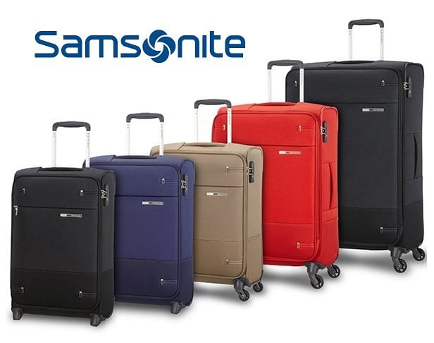 מזוודה קלה מבד Samsonite Base Boost 18