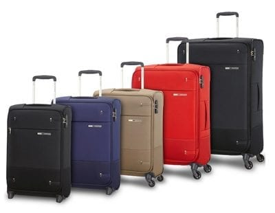 מזוודה קלה מבד Samsonite Base Boost 73