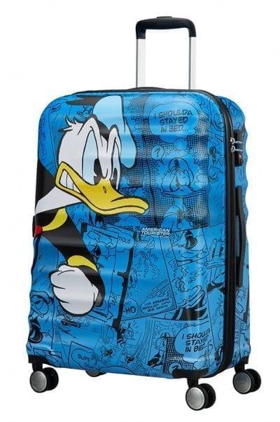 מזוודה קשיחה דיסני American Tourister Disney Comics Donald Duck 17