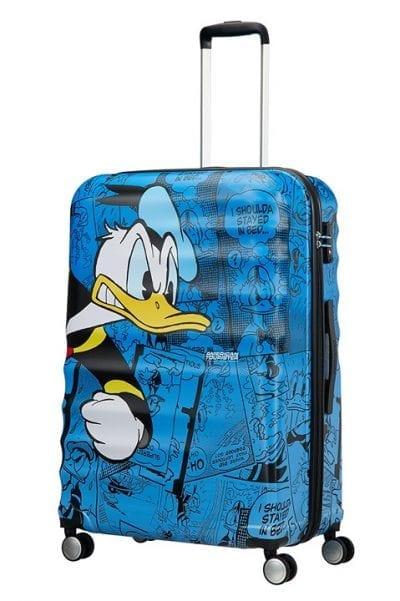 מזוודה קשיחה דיסני American Tourister Disney Comics Donald Duck 1