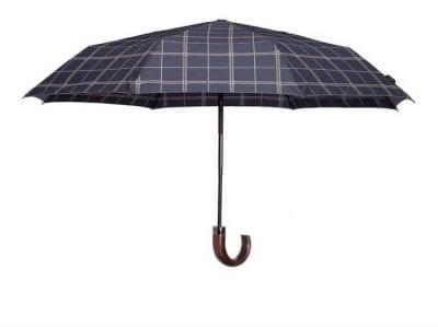 מטריה מתקפלת איכותית סמסונייט Samsonite Wood Classic 34