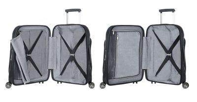 מזוודה משולבת בד וקשיחה סמסונייט Samsonite Fuze 35