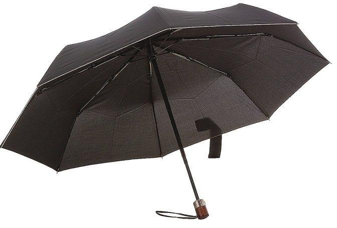 מטריה מתקפלת איכותית סמסונייט Samsonite Wood Classic 29
