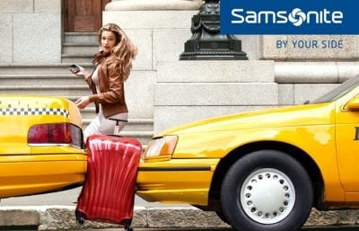 מזוודה קשיחה יוקרתית Samsonite Cosmolite 39