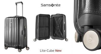 מזוודה קשיחה יוקרתית Samsonite Lite Cube 53